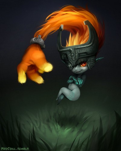 Awesome Cute Skull Wallpapers The Legend Of Zelda Images Midna The Twili Imp Hd