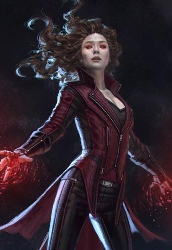 Club America Wallpaper 3d Captain America Civil War Images Scarlet Witch Concept