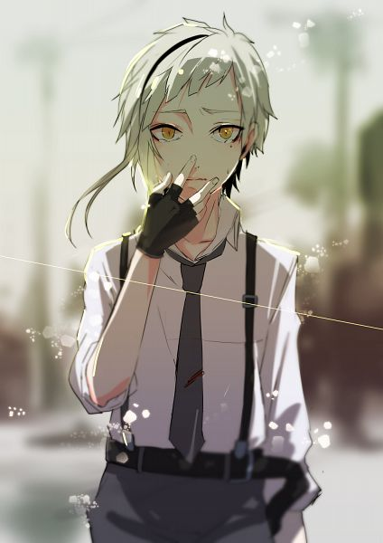Funny Dog Iphone Wallpaper Bungou Stray Dogs Images Atsushi Wallpaper And Background