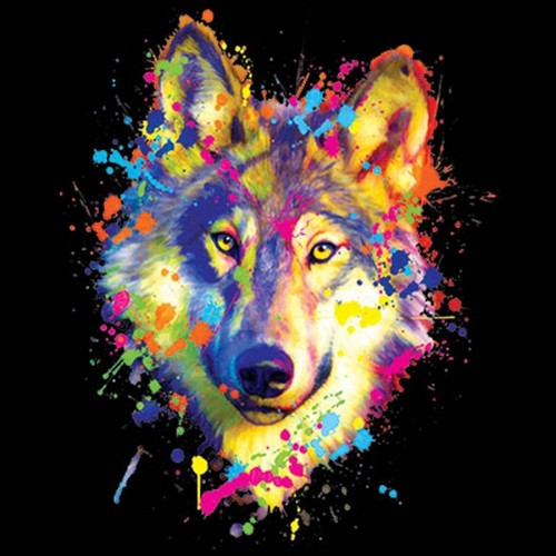 Animated Fire Wallpaper Wolves Images Neon Wolf Hd Wallpaper And Background Photos