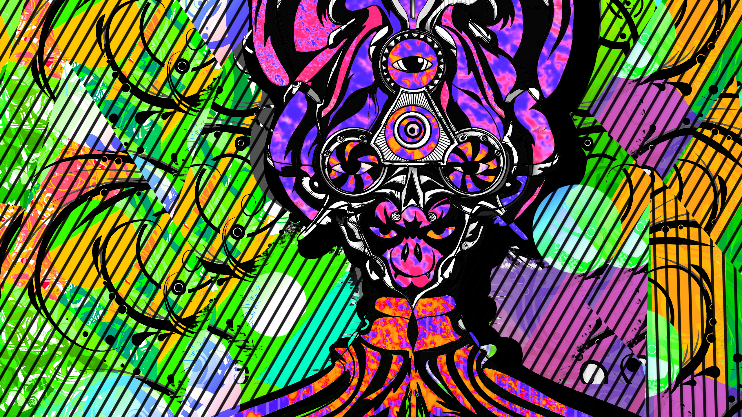 Acid Trippy Wallpapers Hd Http Runyourjewels Com Round 3 Chris Hadzipetros Full