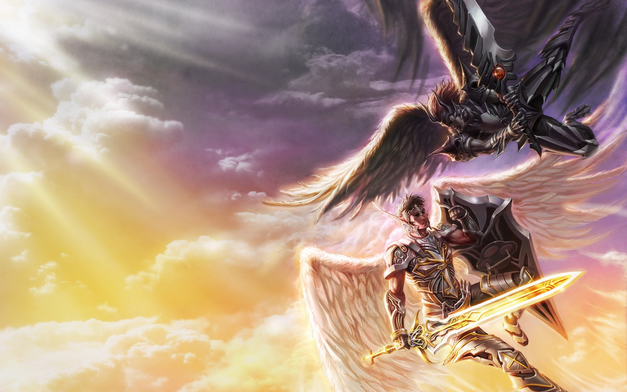 Archangel Michael Hd Wallpaper Angel Warrior Full Hd Wallpaper And Background Image