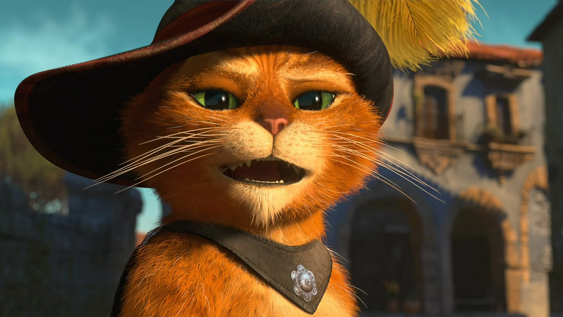 Puss In Boots Wallpaper Hd Puss In Boots Voiced By Antonio Banderas Full Hd Wallpaper