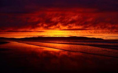 SUNSET [04] redbeach [06december2012thursday] [020731] [VersionOne] HD Wallpaper | Background ...