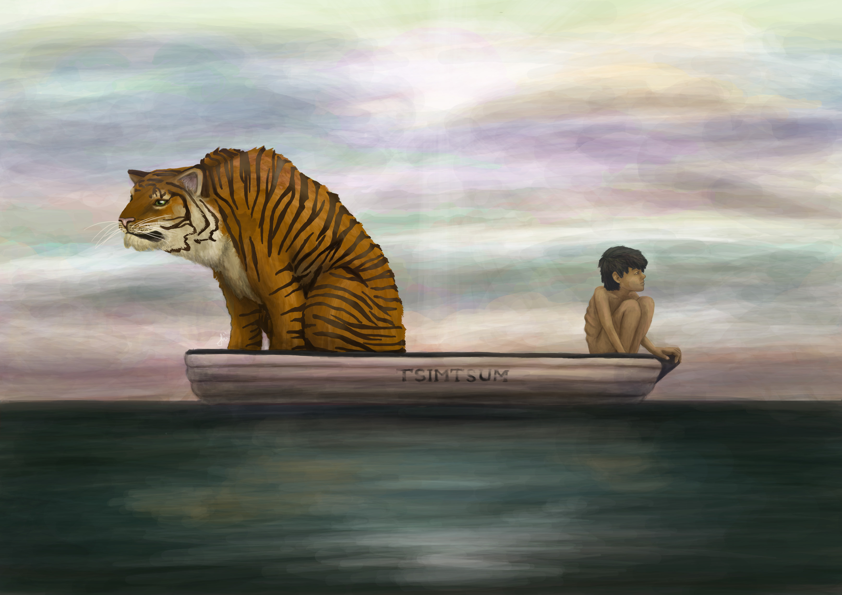 Tiger Live Wallpaper Iphone X Life Of Pi Full Hd Wallpaper And Background Image