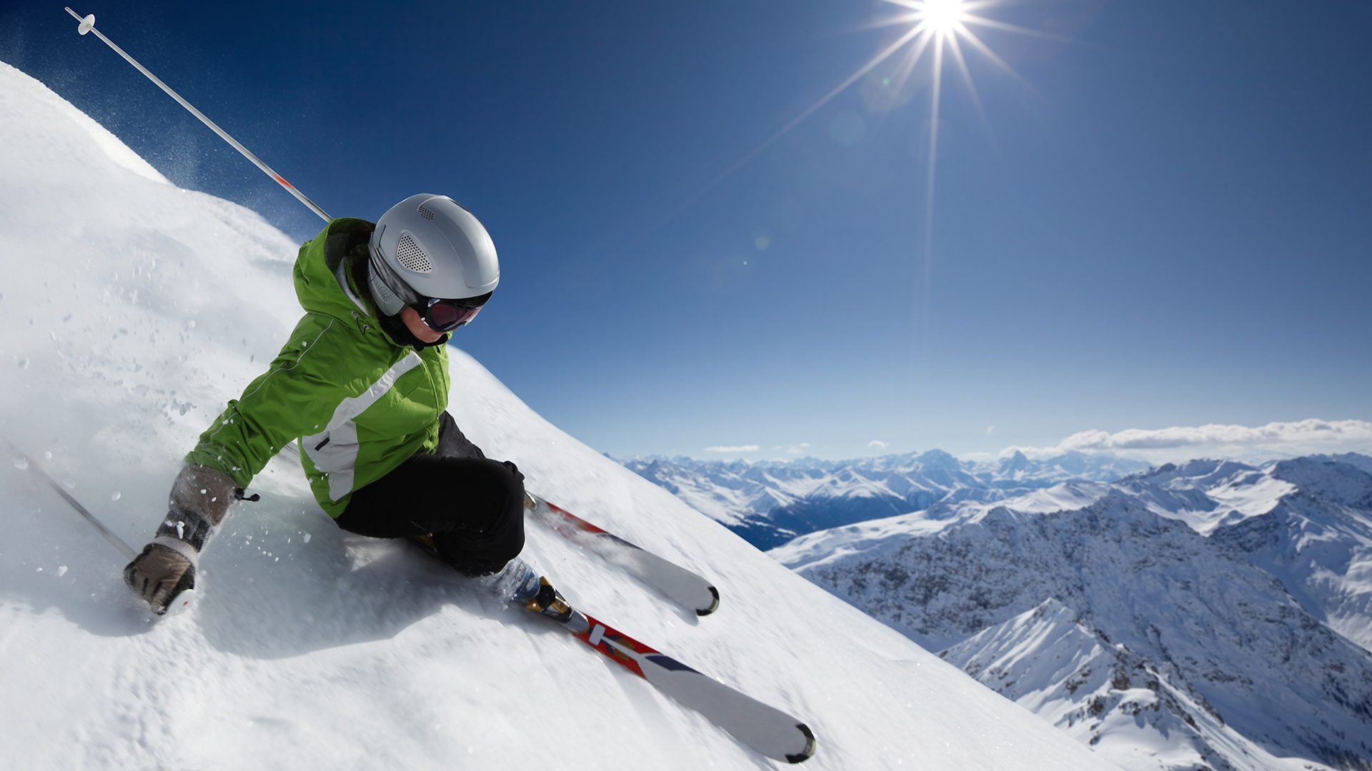 Skiing Wallpaper Skiing Hd Wallpaper Background Image 1920x1080 Id 341894