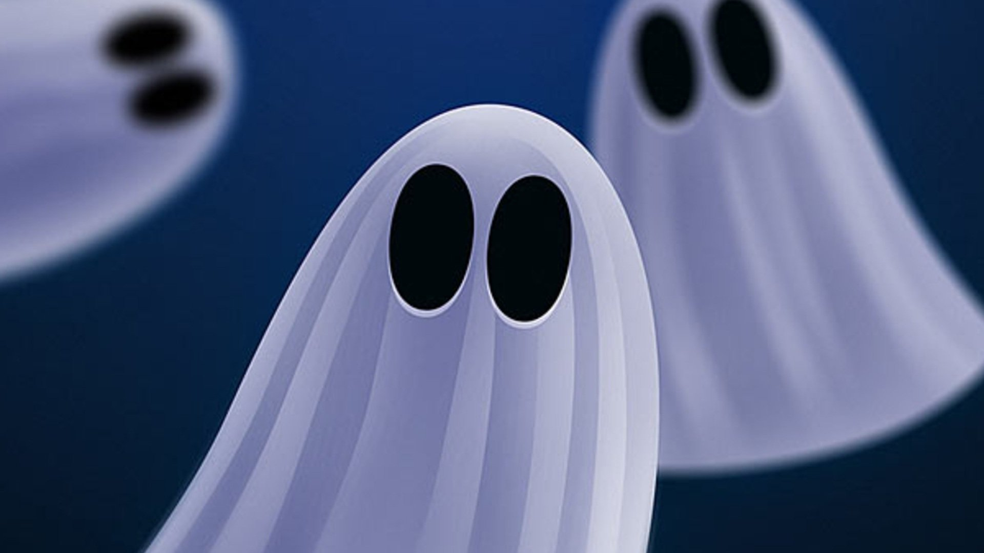 Cute Big Wallpapers Spooky Ghosts Full Hd Wallpaper And Background Image