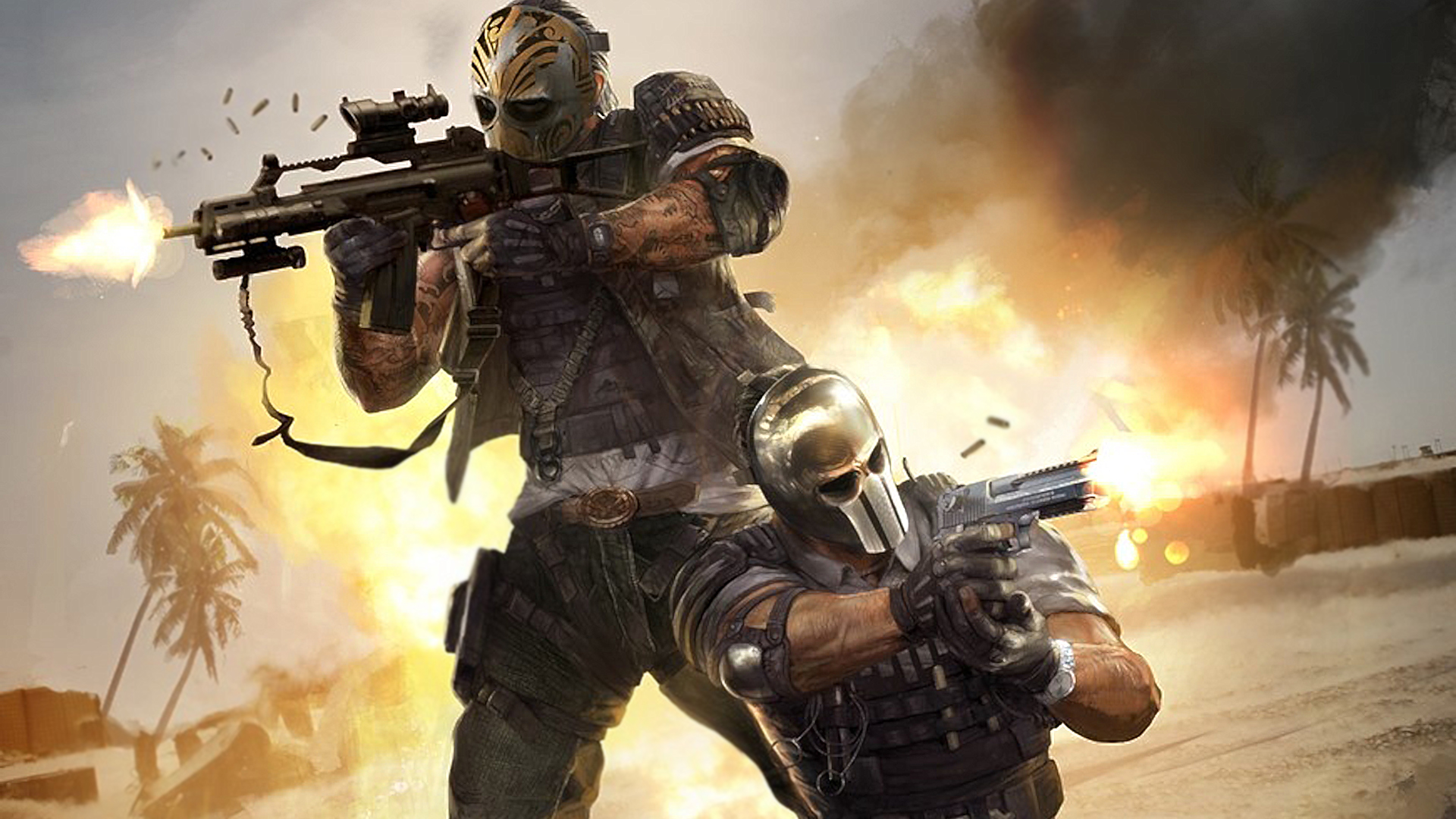 Killzone Shadow Fall Full Hd Wallpaper Army Of Two The Devil S Cartel Hd Wallpaper Background