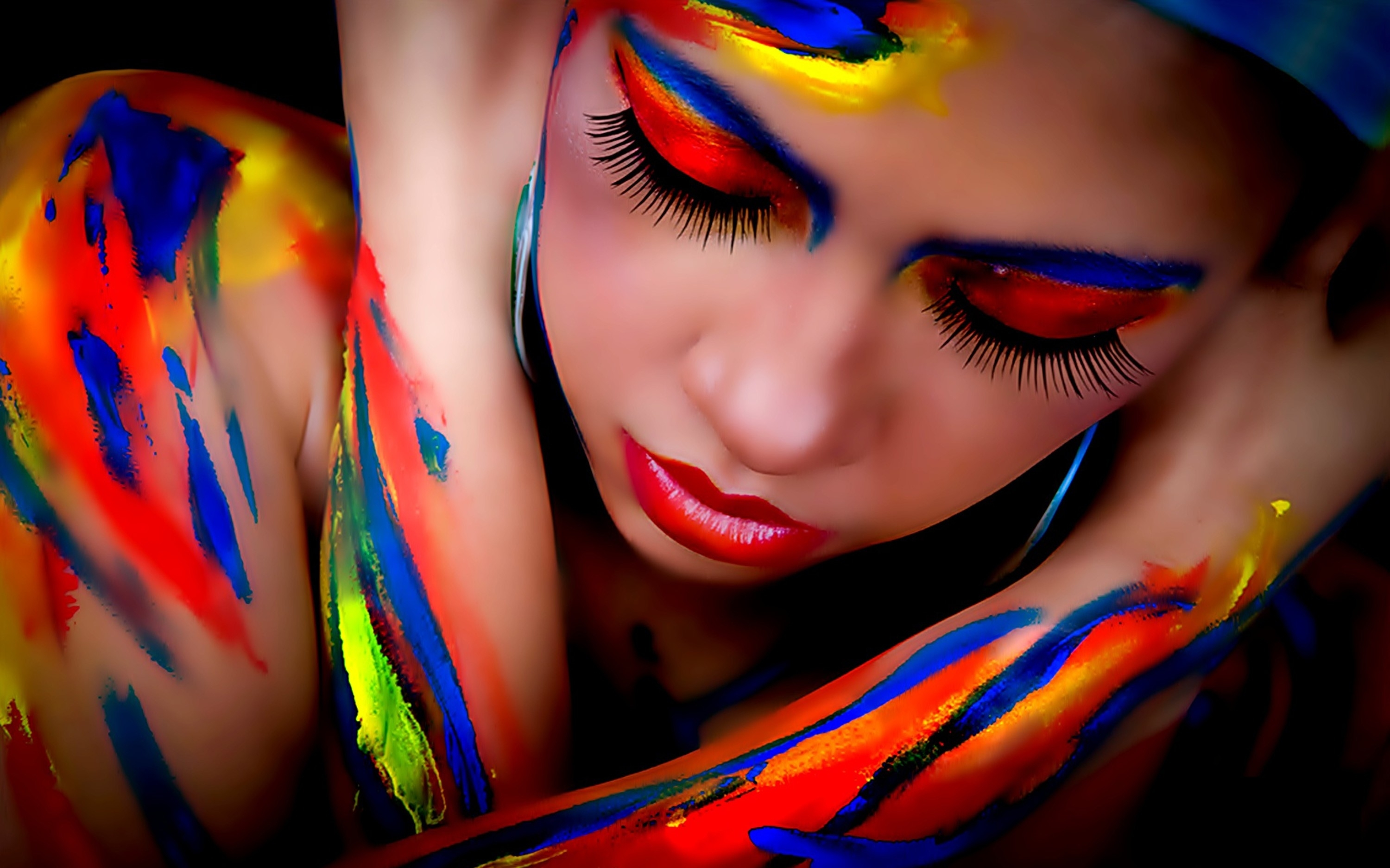 Pinturas Body Paint 1 Body Painting Hd Wallpapers Backgrounds Wallpaper Abyss