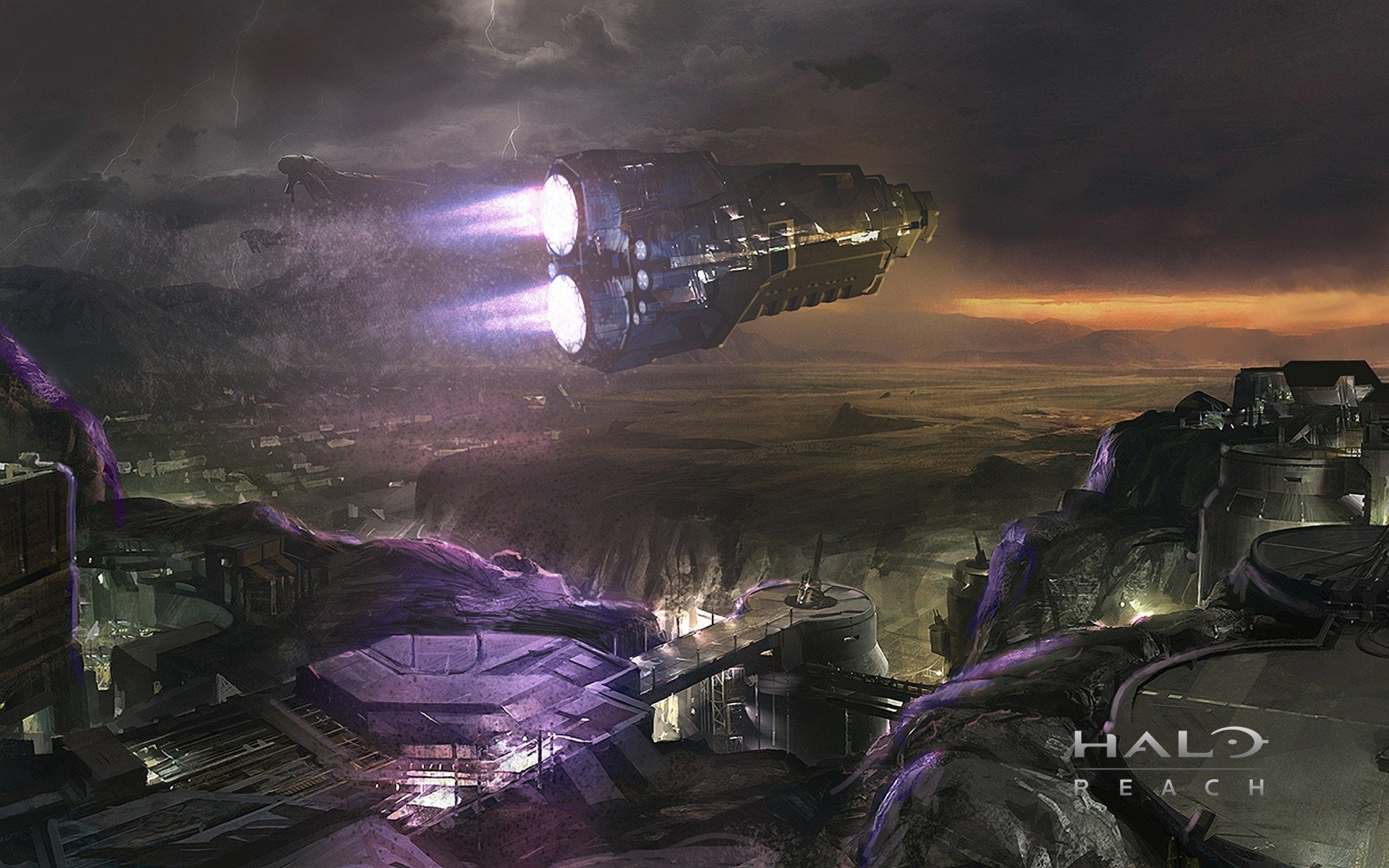 Halo Wallpaper Fall Of Reach Halo Reach Hd Wallpaper Background Image 1920x1200