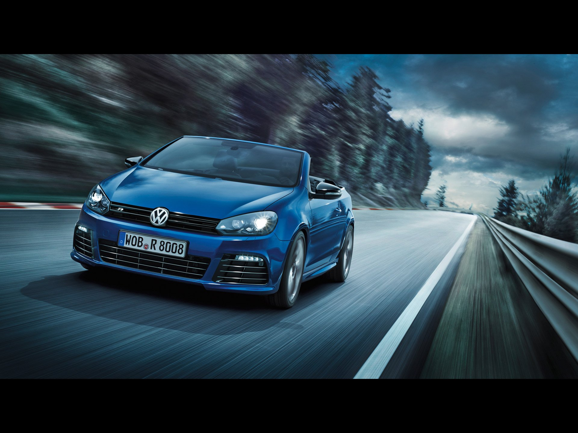Devil 16 Car Wallpaper 2013 Volkswagen Golf R Cabriolet Hd Duvar Kağıdı Arka