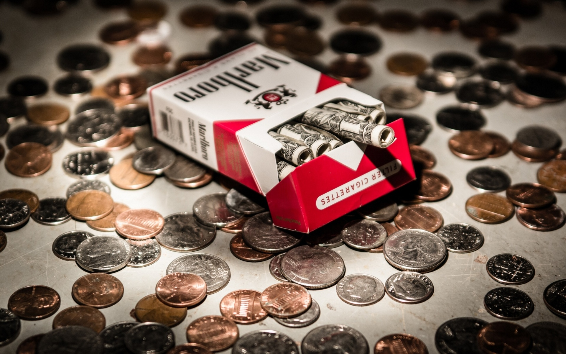 Marlboro Cigarette Wallpaper Hd Money Full Hd Wallpaper And Background Image 1920x1200