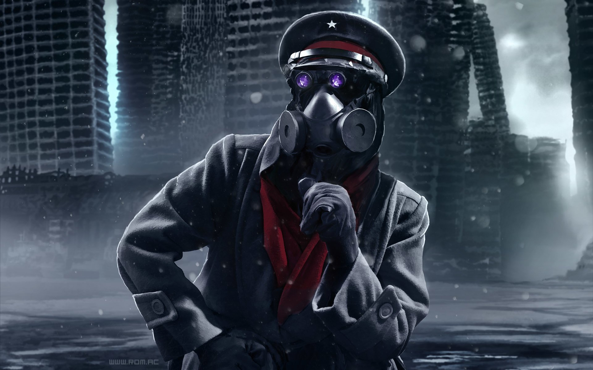 Gas Mask Wallpaper For Iphone Romantically Apocalyptic Full Hd Wallpaper And Background