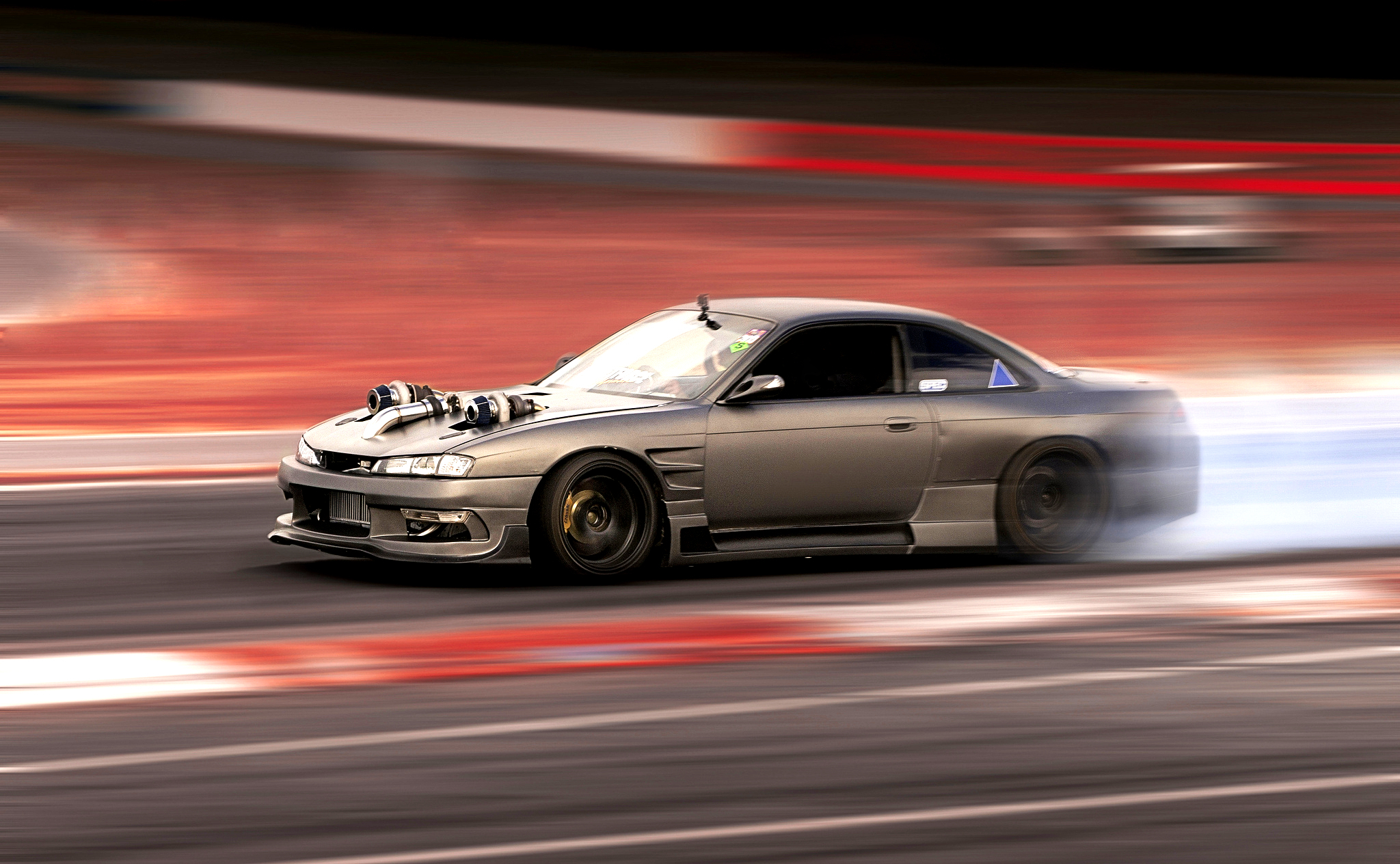 Best Car Drifting Wallpapers Nissan Silvia S14 Full Hd Wallpaper And Background Image