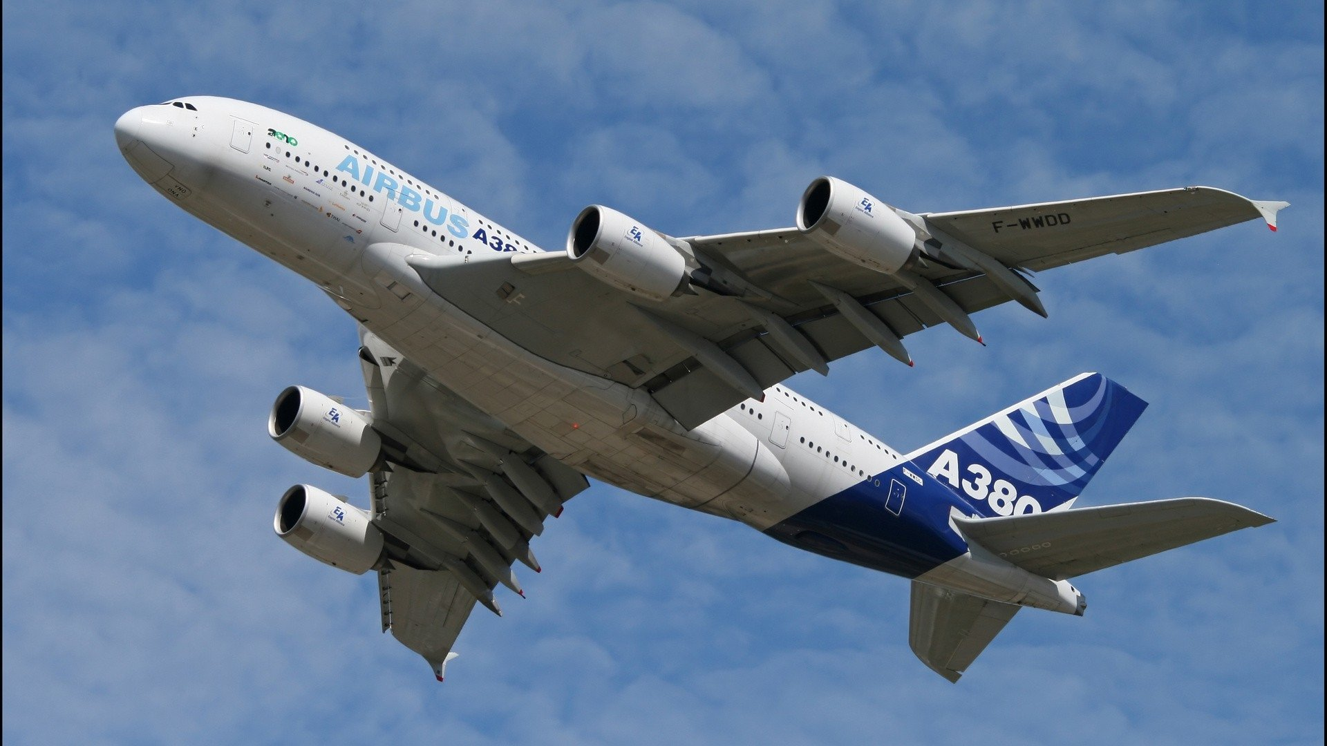 Airbus Iphone Wallpaper Airbus A380 Full Hd Wallpaper And Background Image