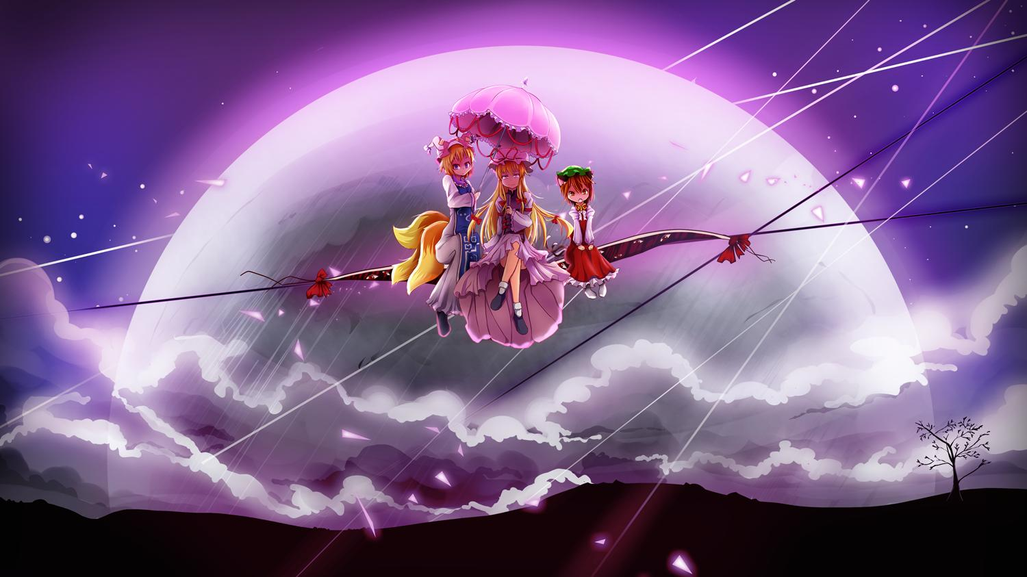 Cool Minecraft Wallpapers Hd Touhou Wallpaper And Background Image 1500x843 Id