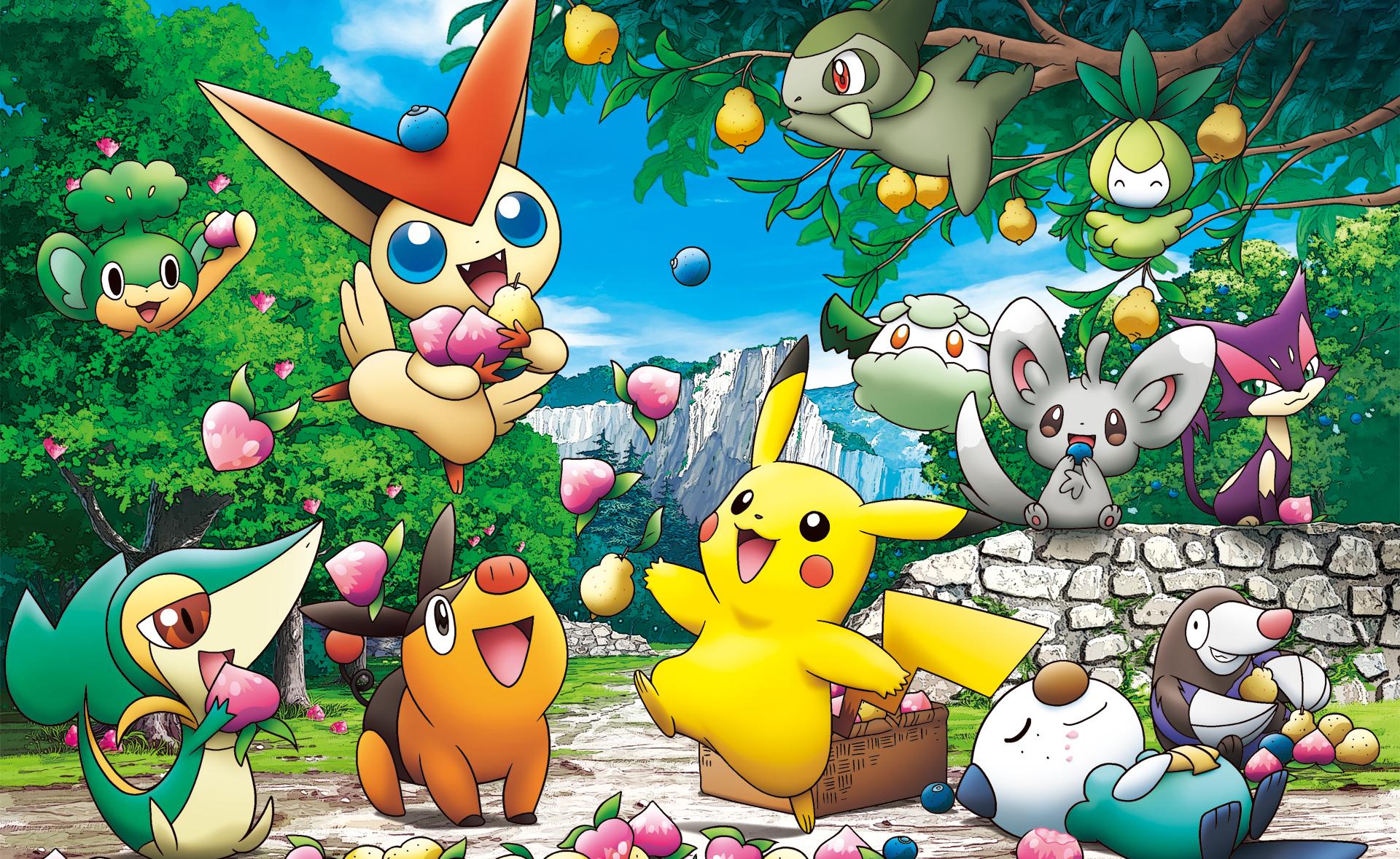 Wallpaper Iphone 5 Anime Pokemon Poster 4 Fond D 233 Cran And Arri 232 Re Plan 1439x878