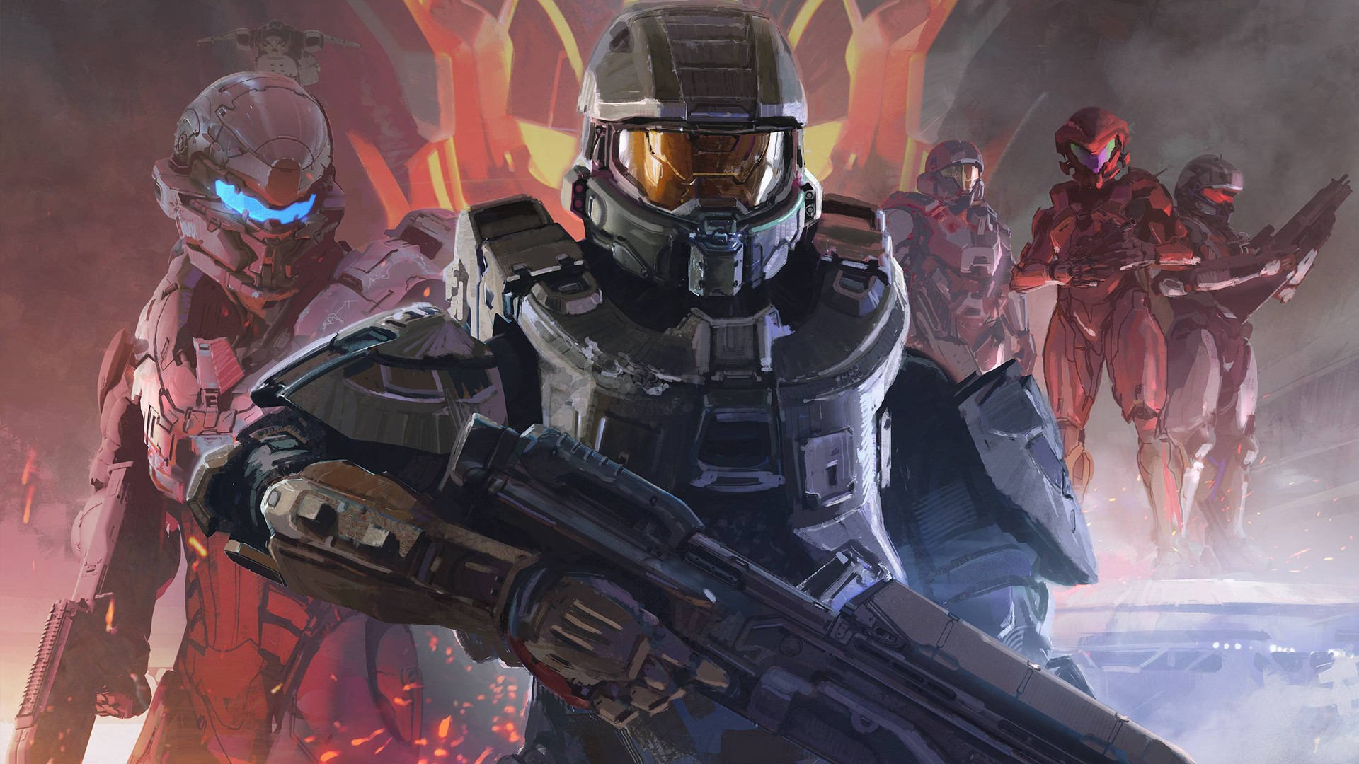 Halo Reach 3d Wallpaper Pc Halo 5 Guardians Full Hd Wallpaper And Background Image