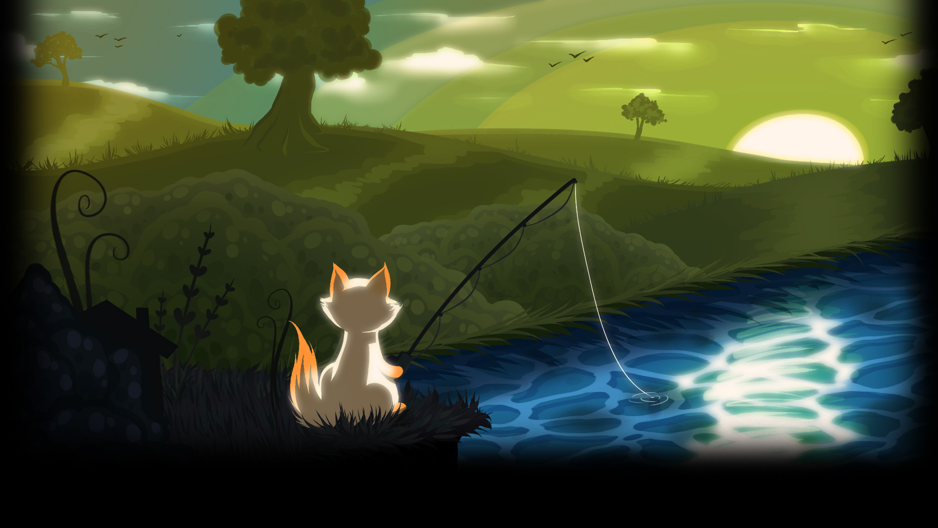 Car Wallpaper Slideshow 3 Cat Goes Fishing Hd Wallpapers Backgrounds Wallpaper