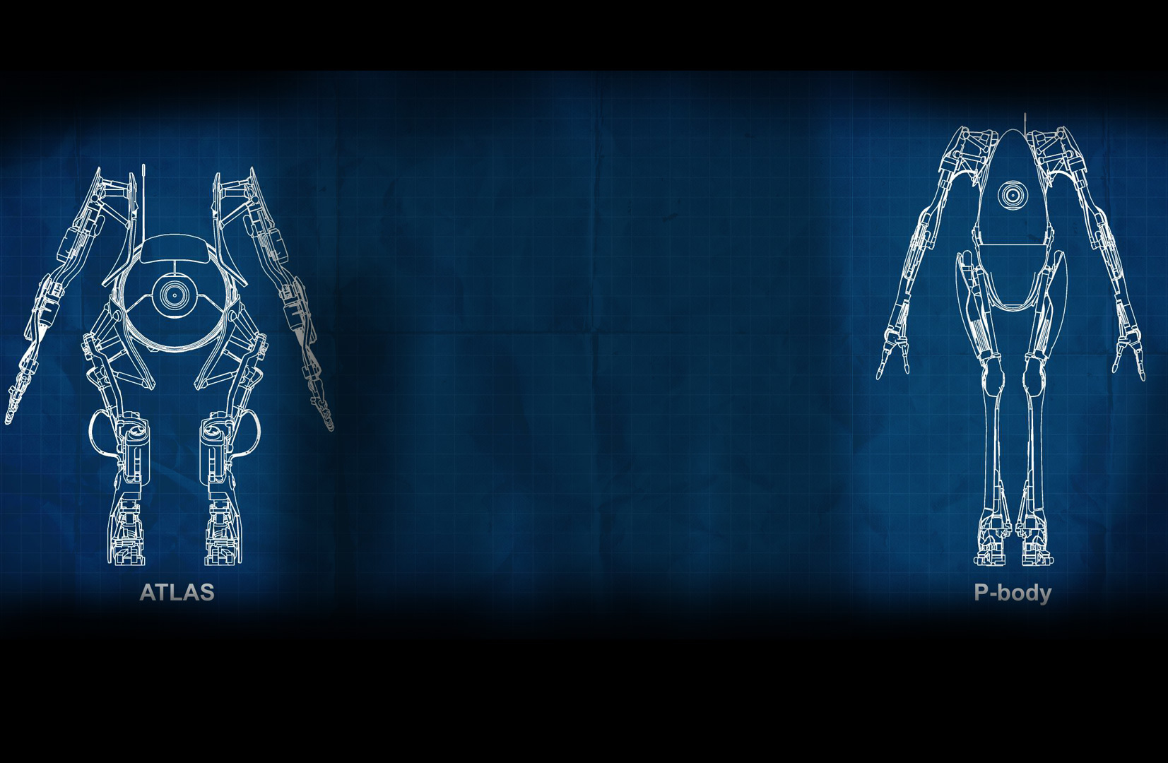 Iphone X Blueprint Wallpaper Portal 2 Wallpaper And Background Image 1653x1080 Id