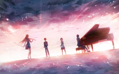 151 Your Lie In April HD Wallpapers | Backgrounds - Wallpaper Abyss - Page 3