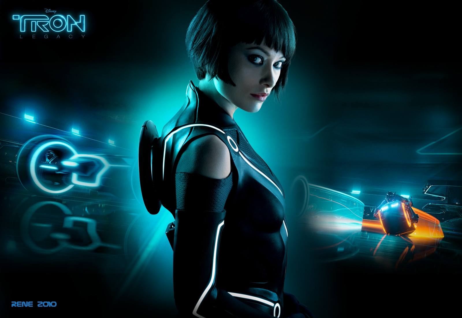 Haunted Mansion Iphone Wallpaper Tron Legacy Wallpaper And Background Image 1600x1100