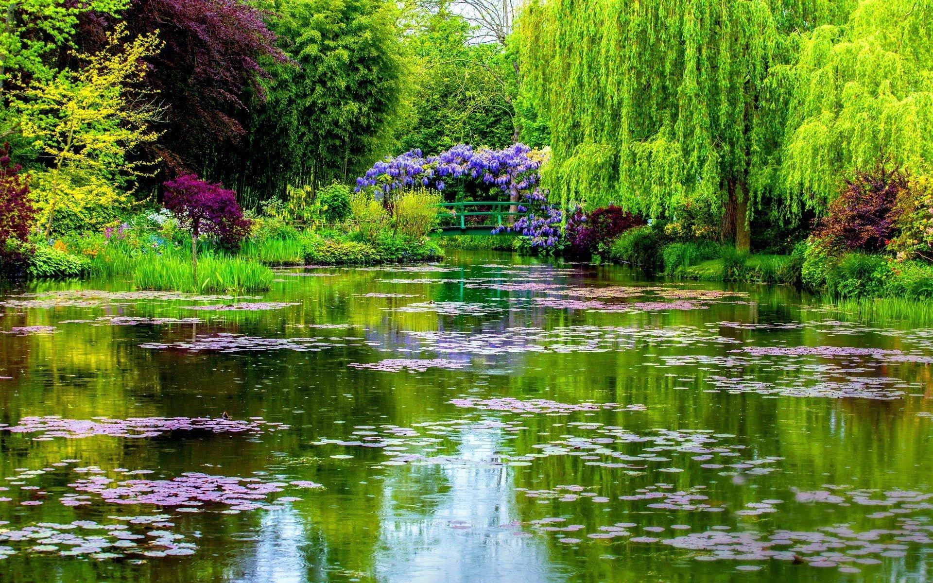 Monet Iphone Wallpaper Quot Monet S Garden Quot In Normandy France Full Hd Wallpaper And