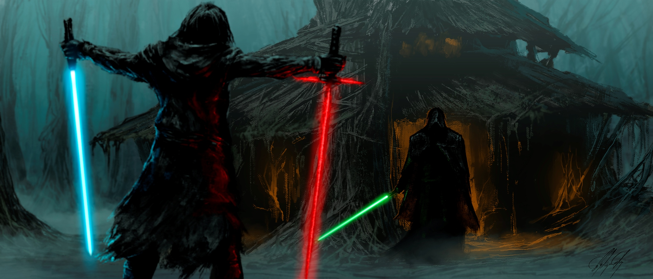Kylo Ren Wallpaper Iphone X Star Wars Wallpaper And Background Image 2100x900 Id