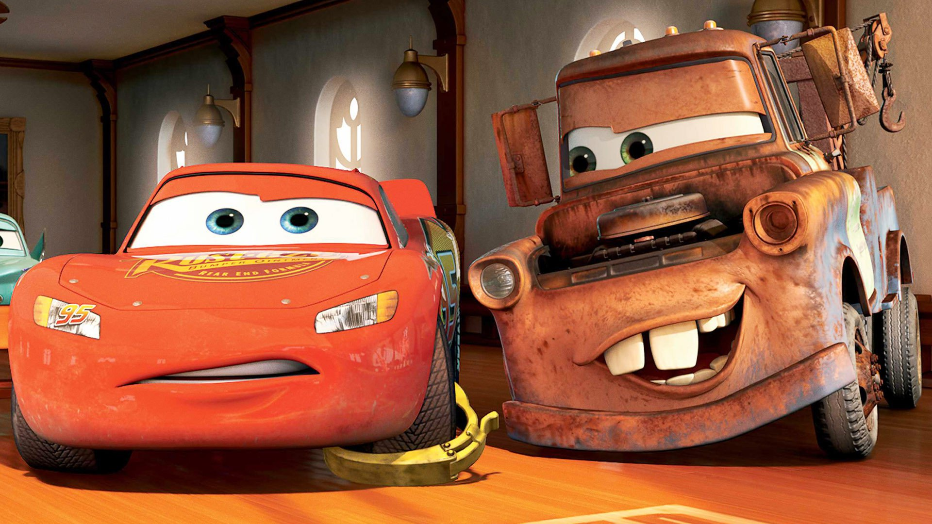 Tow Mater Cars Movie Wallpaper 1920x1200 Cars Hd Wallpaper Background Image 1920x1080 Id
