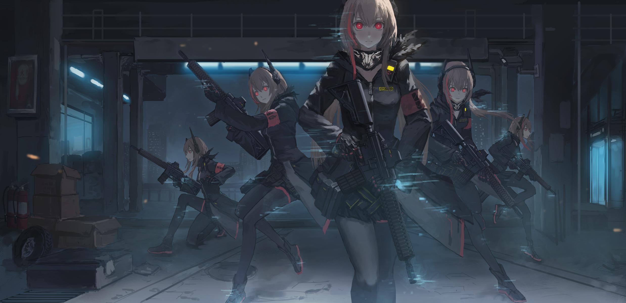Anime Sniper Girl Wallpaper Hd Girls Frontline Hd Wallpaper Background Image