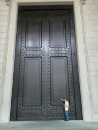 Big Door & Big-white-door