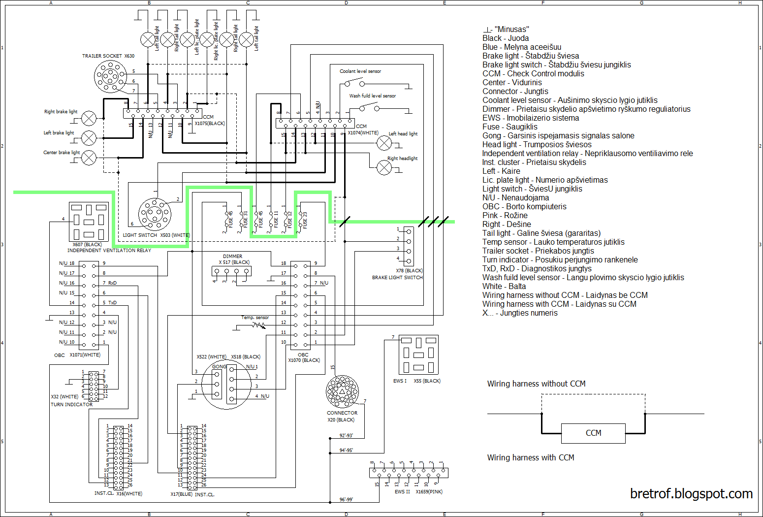 76 ford wiring harness diagram