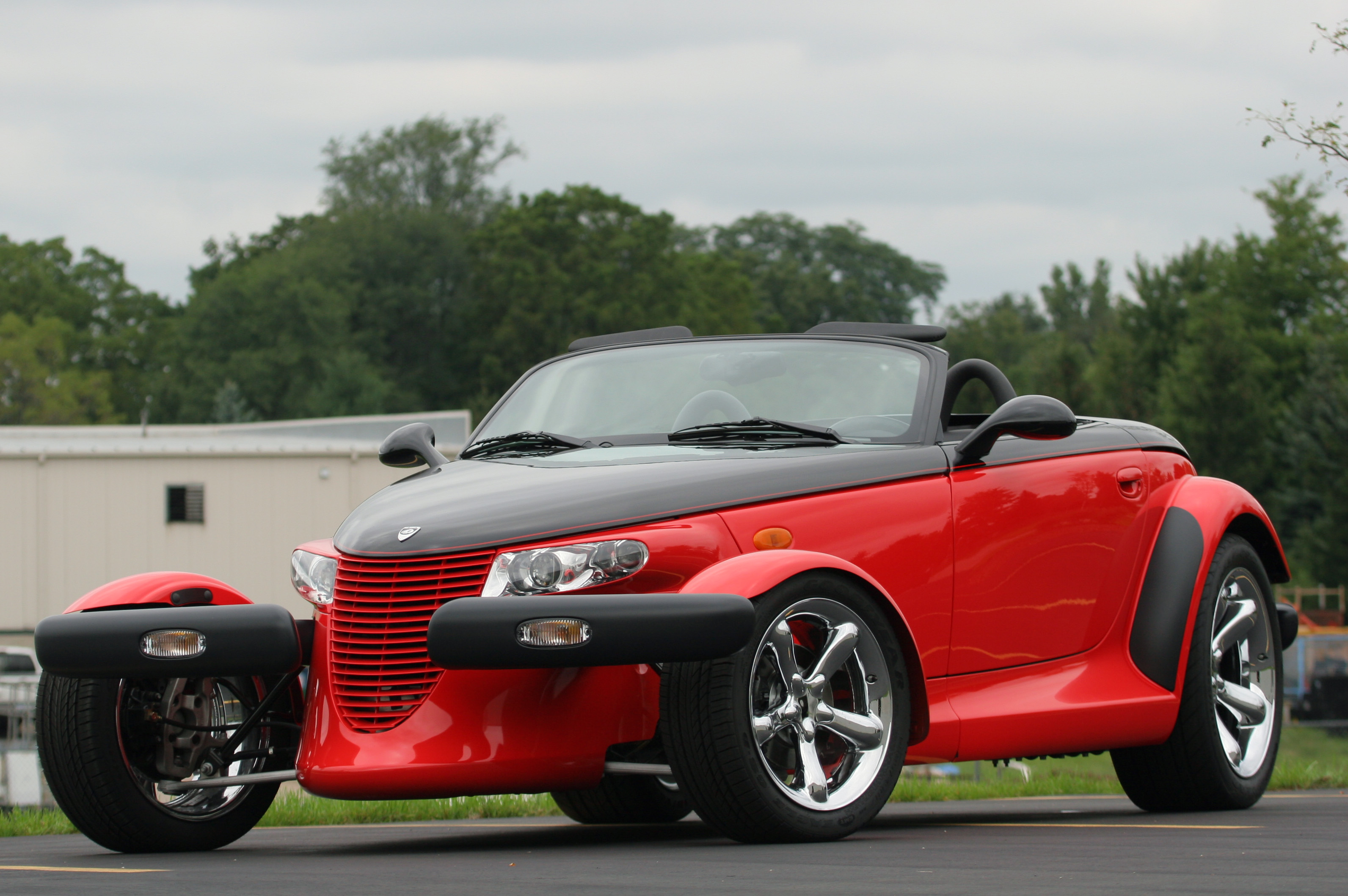 Lowrider Car Hd Wallpaper 2000 Plymouth Prowler Hd Wallpaper Background Image