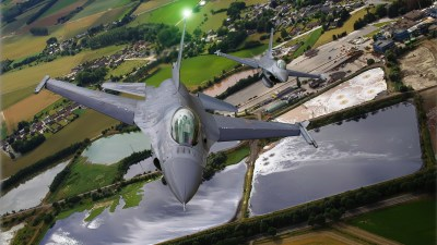 General Dynamics F-16 Fighting Falcon Full HD Wallpaper and Background Image | 1920x1080 | ID:361614