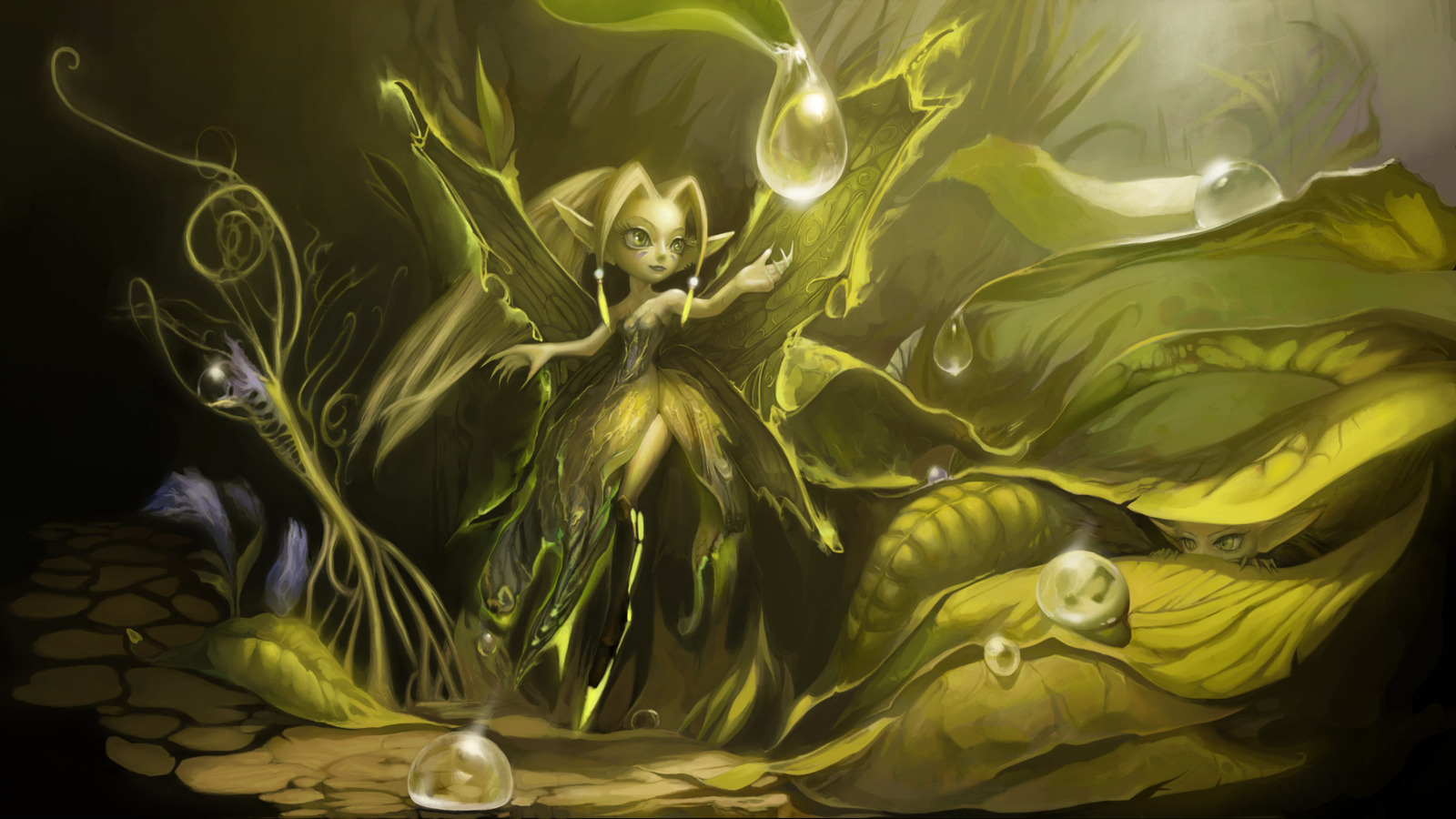 Faerie Girl Wallpaper Fairy Wallpaper And Background Image 1600x900 Id 366434