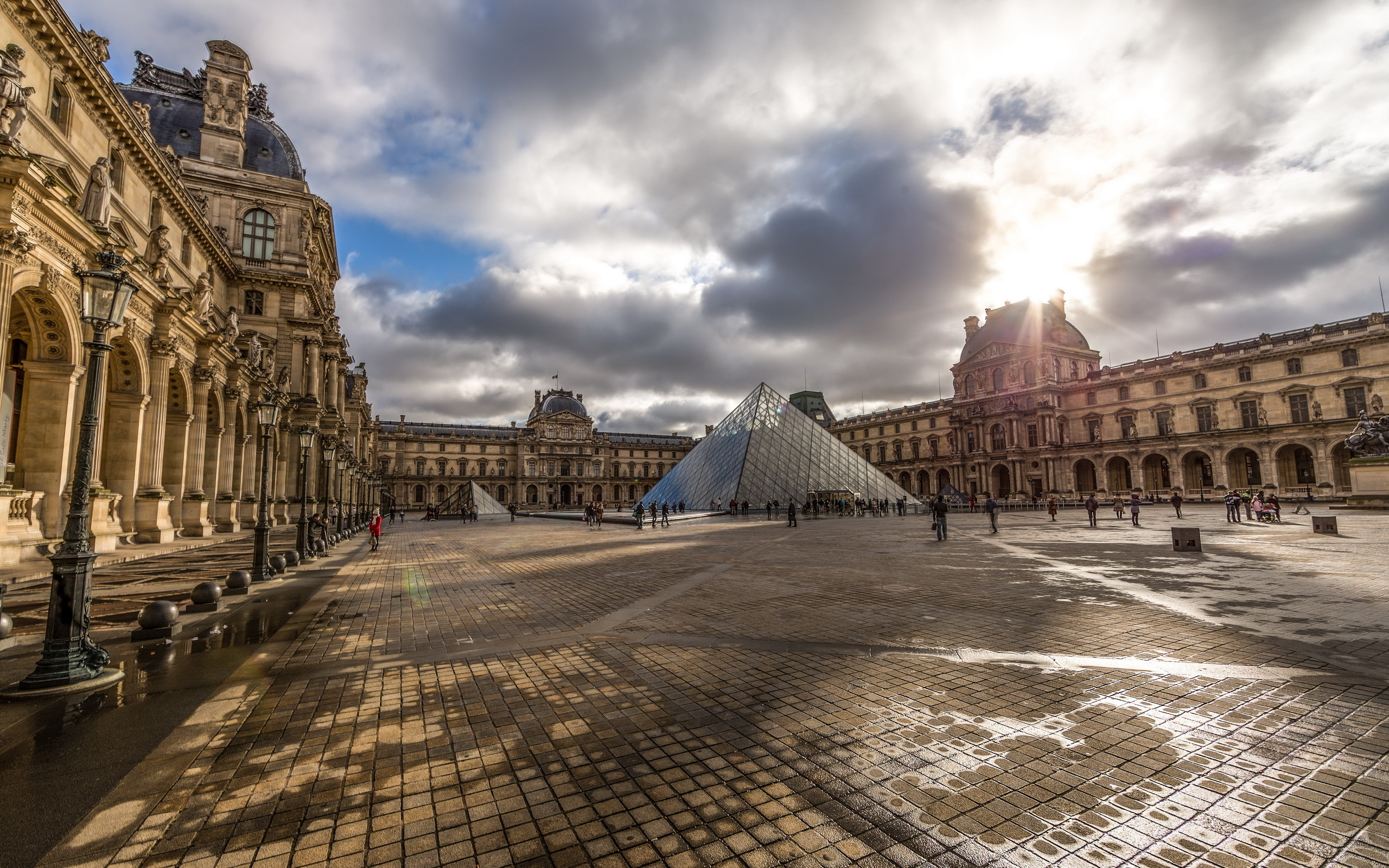 4k Hdr Wallpaper Iphone X The Louvre Full Hd Wallpaper And Background Image