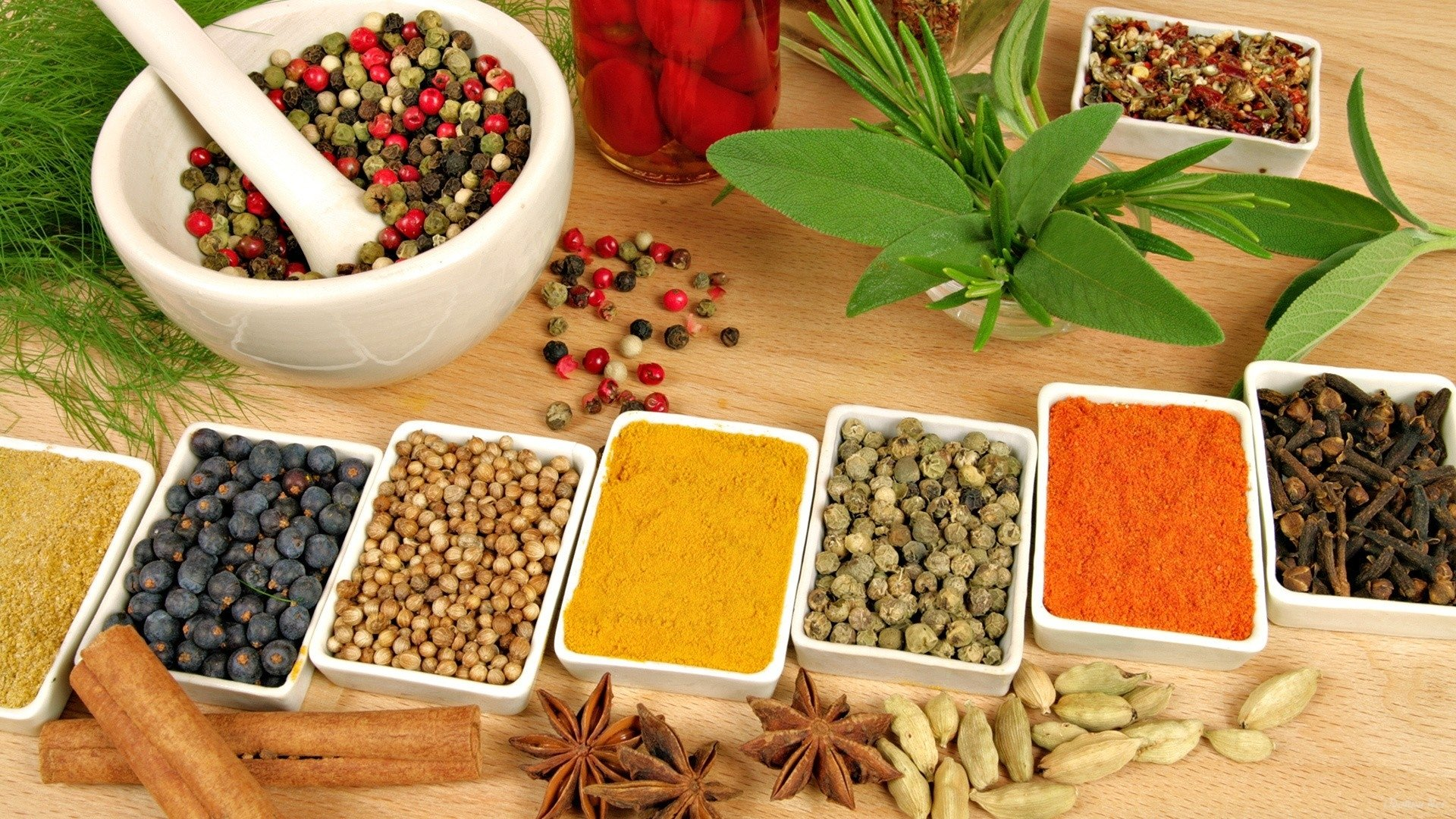 Herbal Wallpaper Herbs And Spices Hd Wallpaper Background Image 1920x1080 Id