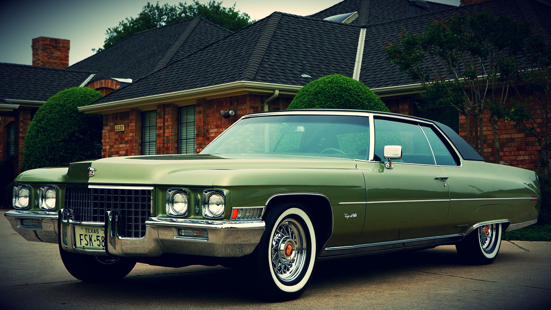 Lowrider Wallpaper Iphone 1971 Cadillac Coupe Deville Full Hd Wallpaper And