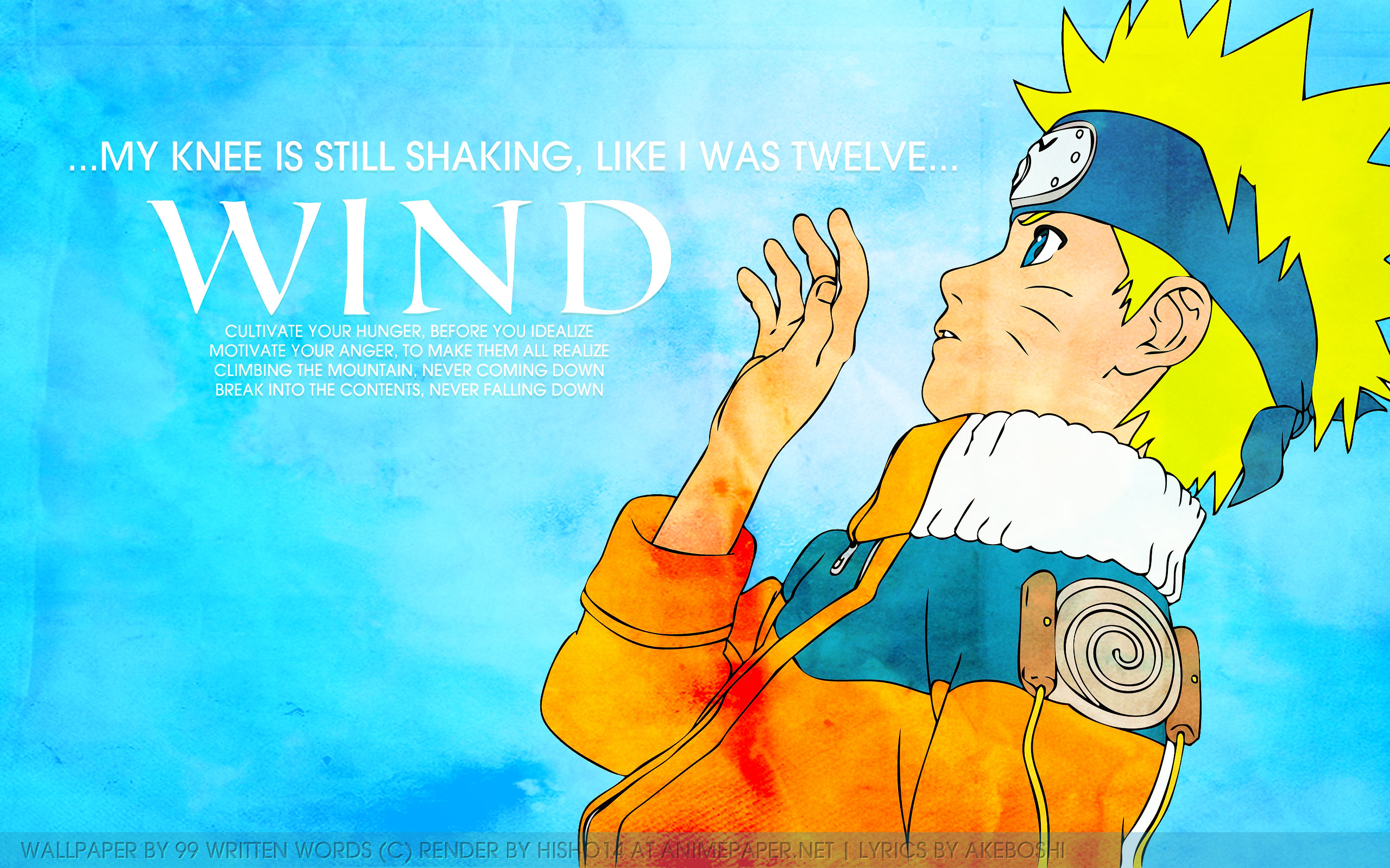 3840x1080 Hd Wallpapers Sad Quote Naruto Wind Full Hd Wallpaper And Background 2560x1600