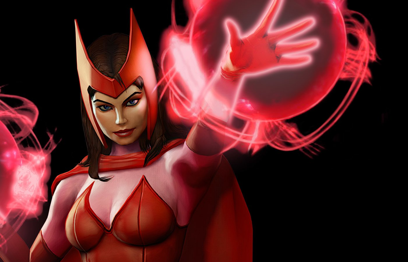 X Men Animated Series Wallpaper Scarlet Witch Wallpaper And Background Image 1400x900