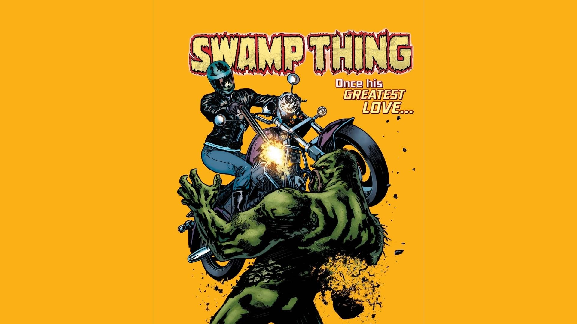 Robin Iphone Wallpaper Swamp Thing Full Hd Wallpaper And Background Image