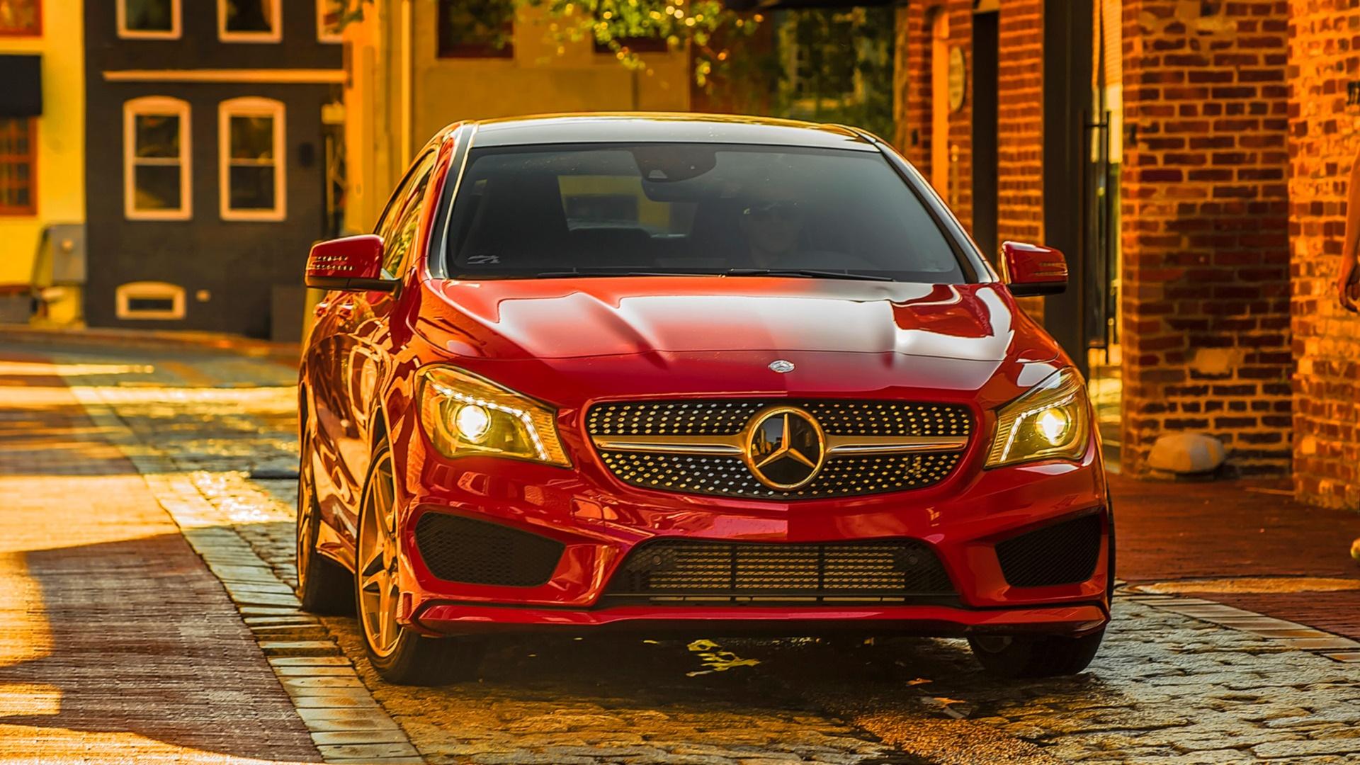 Hd Car Wallpapers 1600x1200 16 Mercedes Benz Cla Class Hd Wallpapers Backgrounds