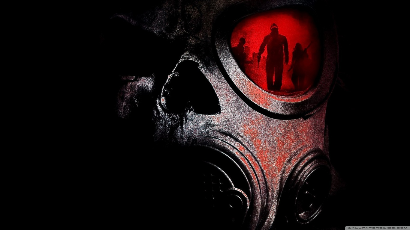 Gas Mask Wallpaper For Iphone Gas Mask Papel De Parede And Background Image 1366x768