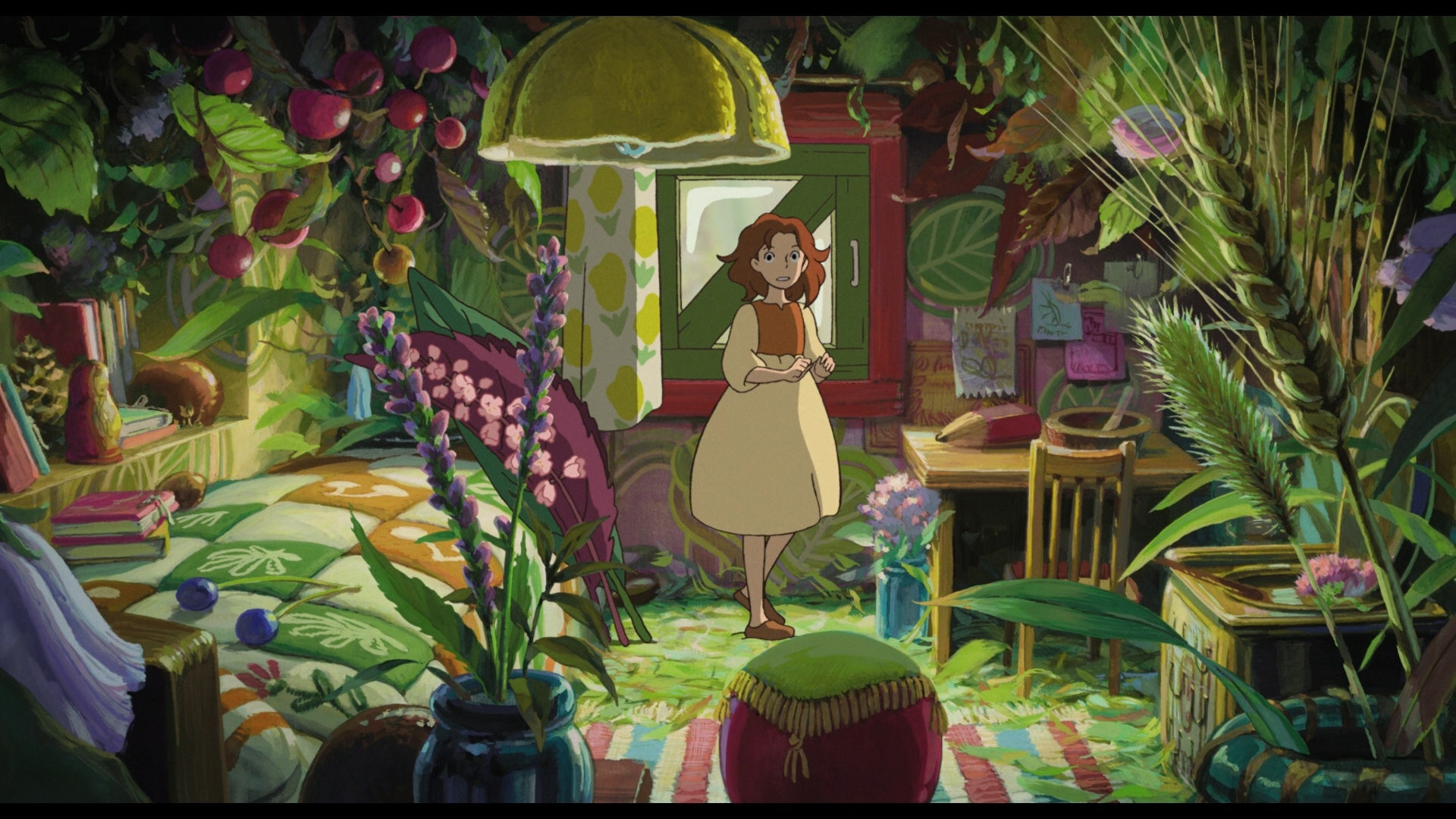 Ps3 Animated Wallpaper 70 The Secret World Of Arrietty Hd Wallpapers Background
