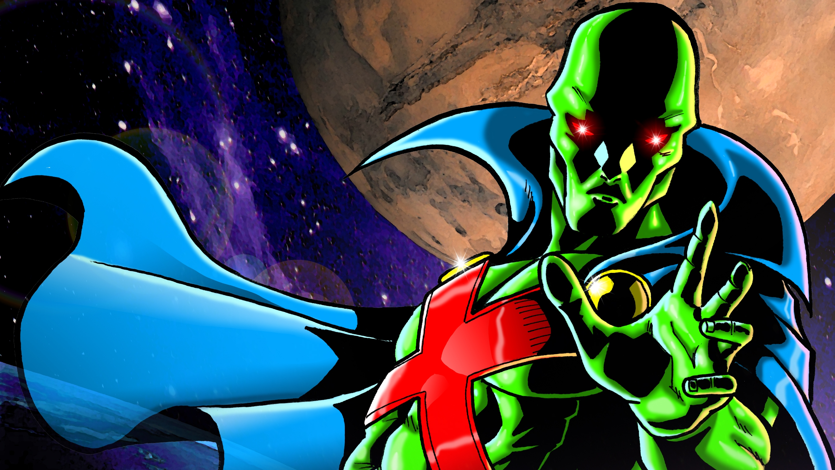 True Detective Wallpaper Iphone Martian Manhunter Full Hd Wallpaper And Background Image