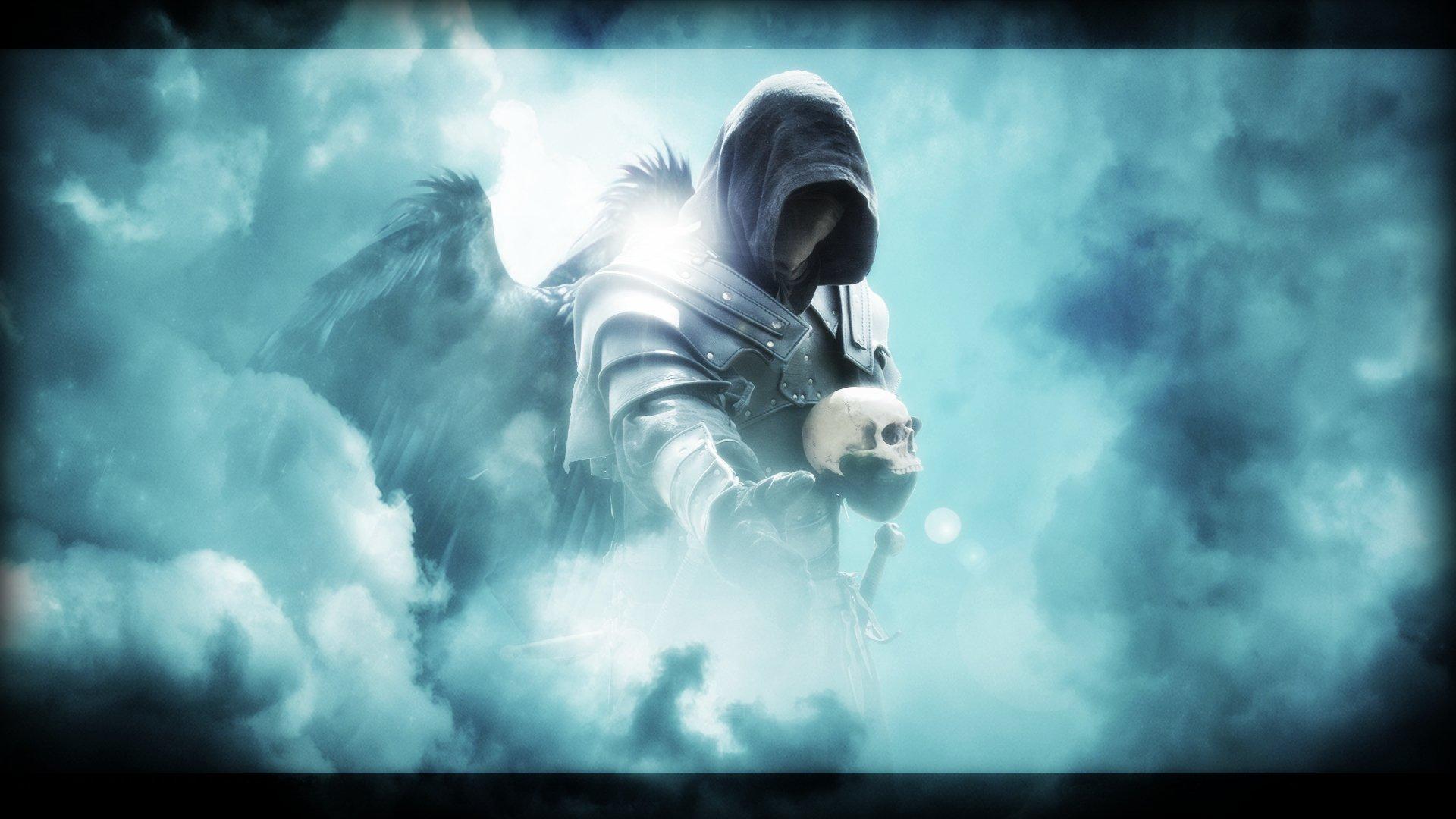 Archangel Michael Hd Wallpaper Ezio Auditore Death Angel Full Hd Wallpaper And