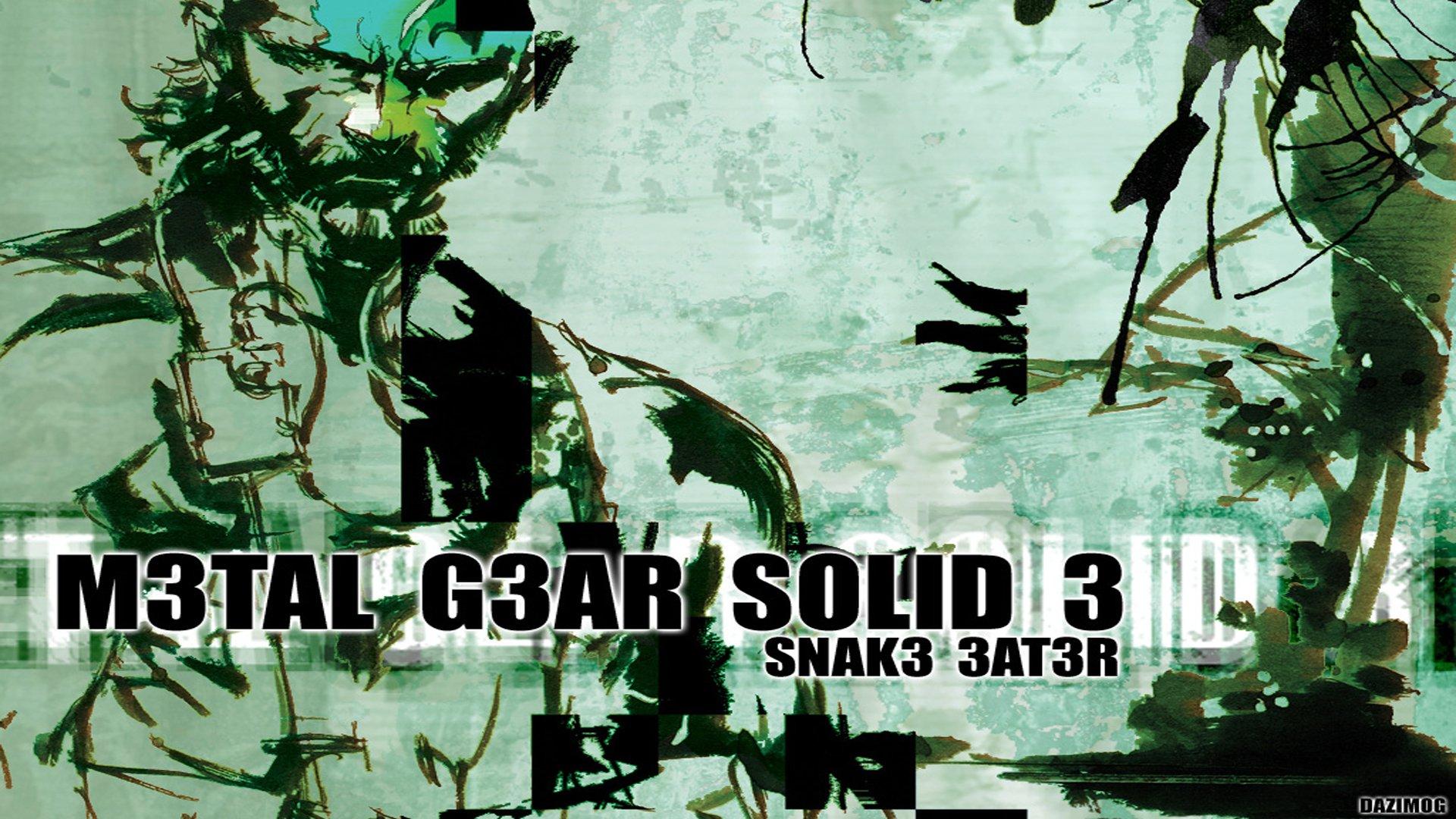 Metal Gear Solid Iphone Wallpaper Metal Gear Solid 3 Snake Eater Hd Wallpaper Background