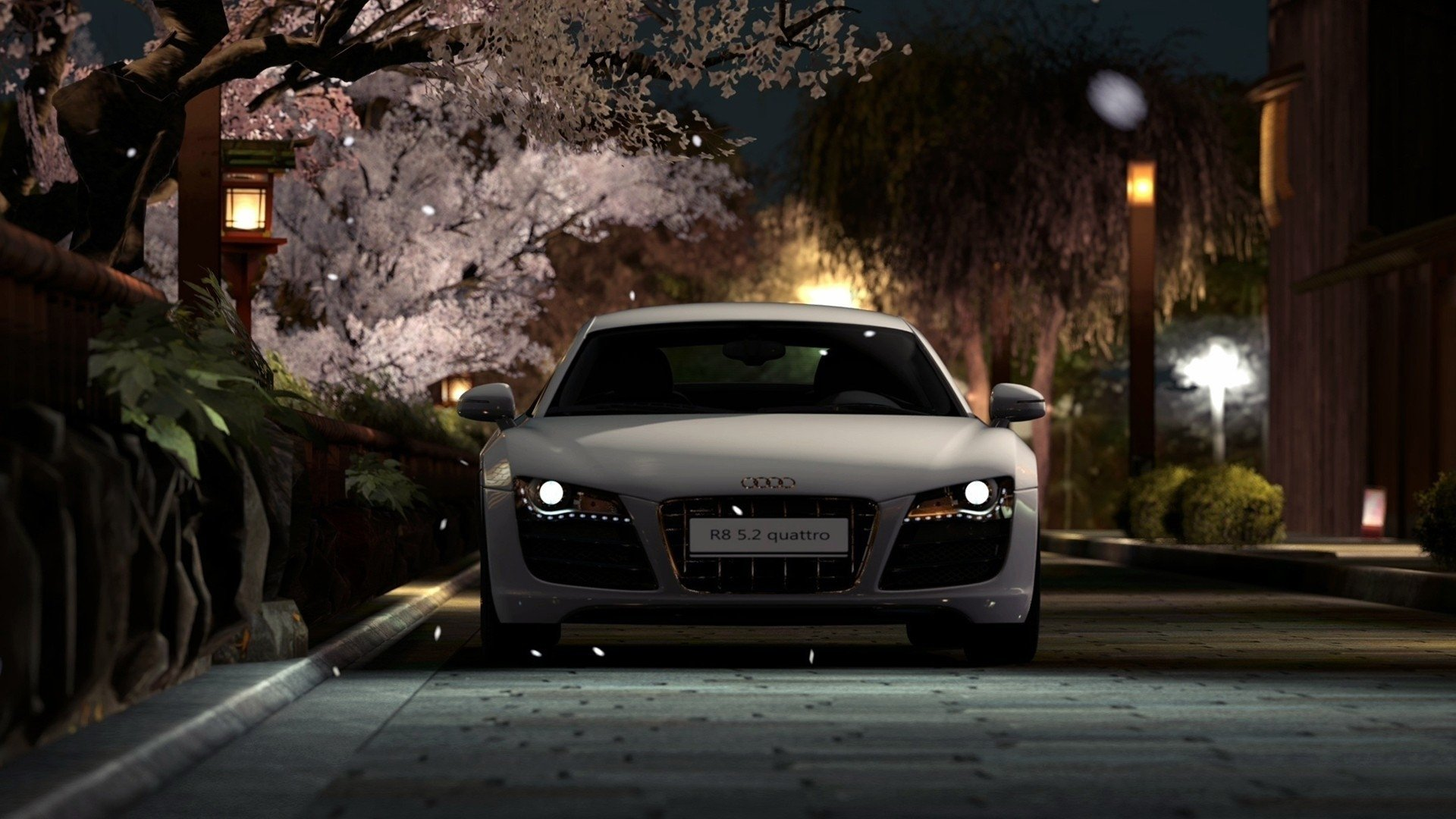 Dual Screen Car Wallpaper Audi R8 Hd Wallpaper Background Image 1920x1080 Id