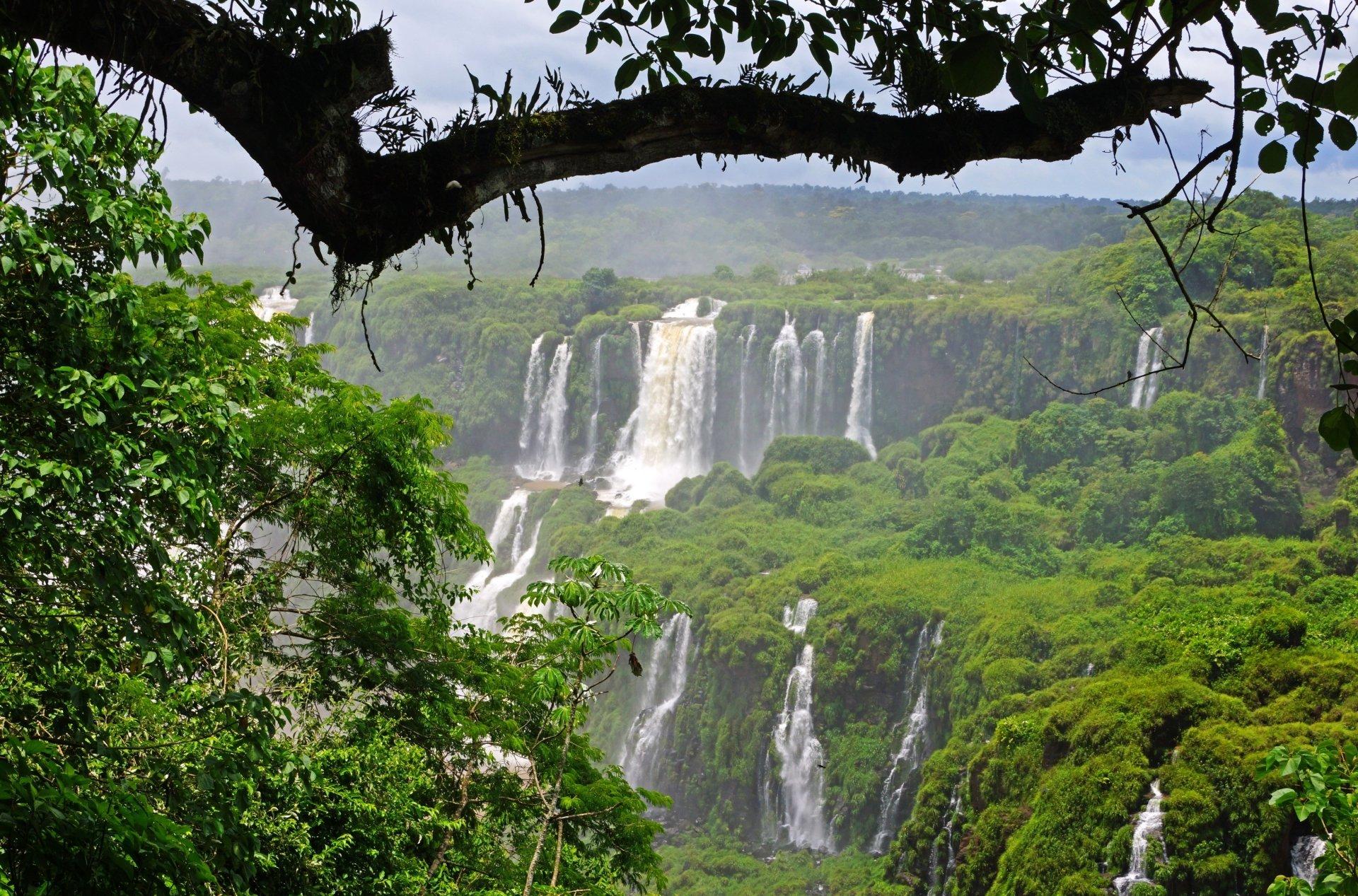 Iguazu Falls Wallpaper 1920x1200 Iguazu Waterfalls Full Hd Wallpaper And Background