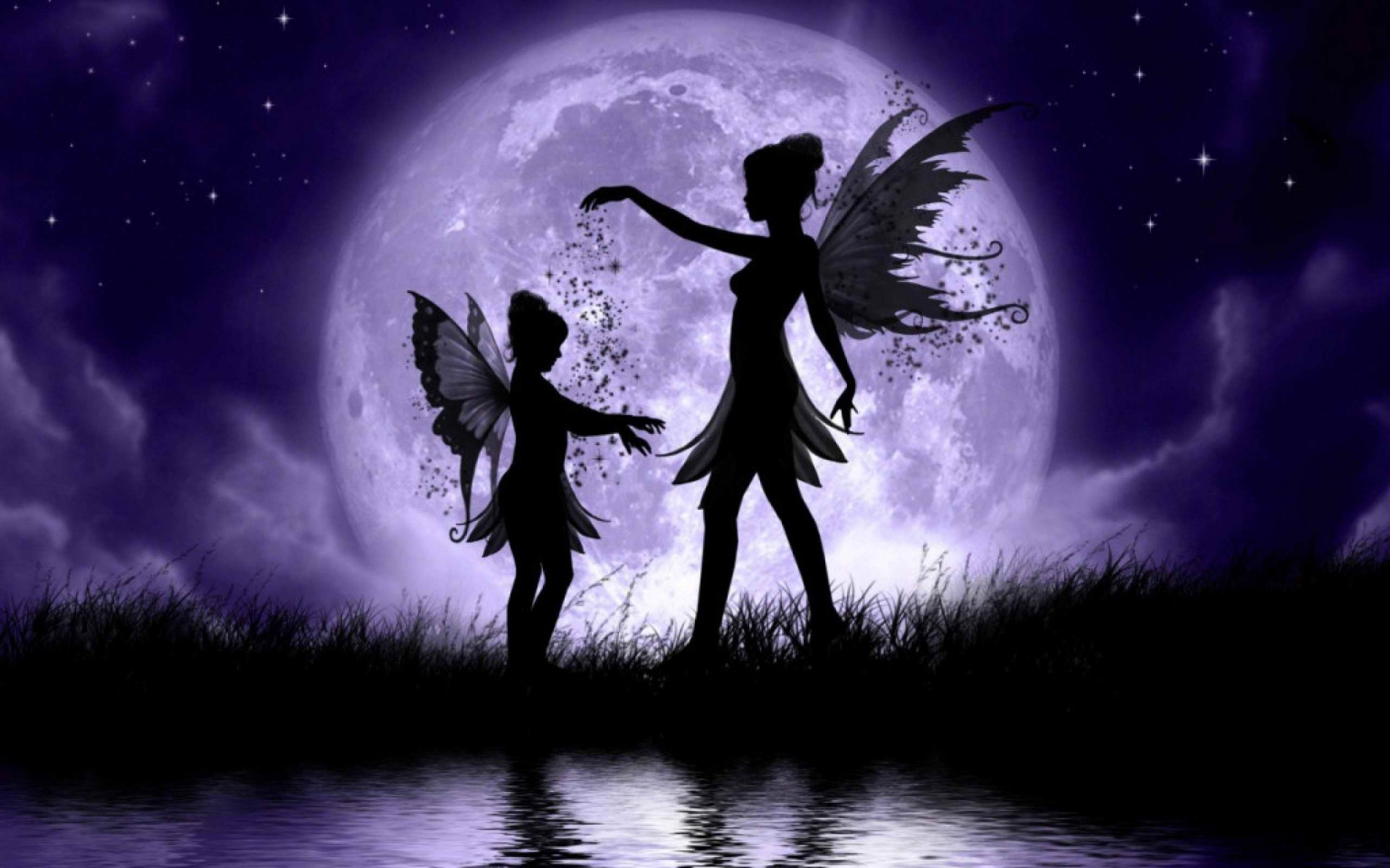 Large Fairies Fee Hd Wallpaper Hintergrund 1920x1200 Id 550172